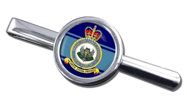 RAF Station Old Sarum Round Tie Clip