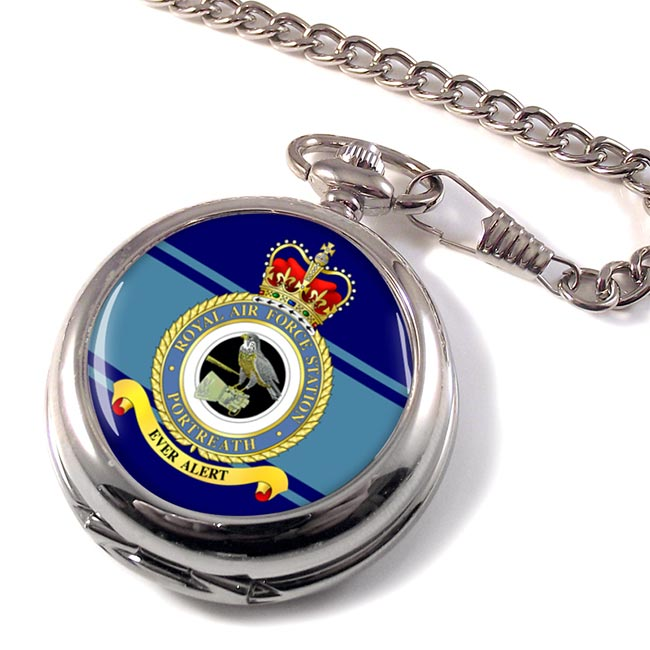 RAF Station Portreath Pocket Watch