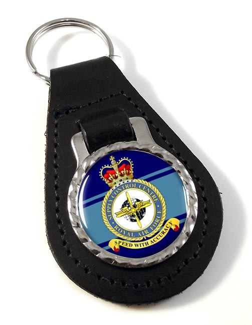 Supply Control Centre (Royal Air Force) Leather Key Fob