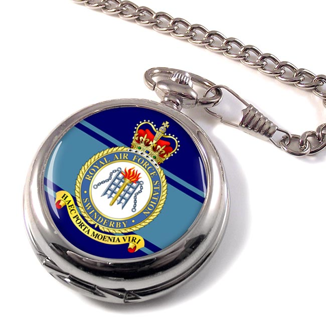 RAF Station Swinderby Pocket Watch