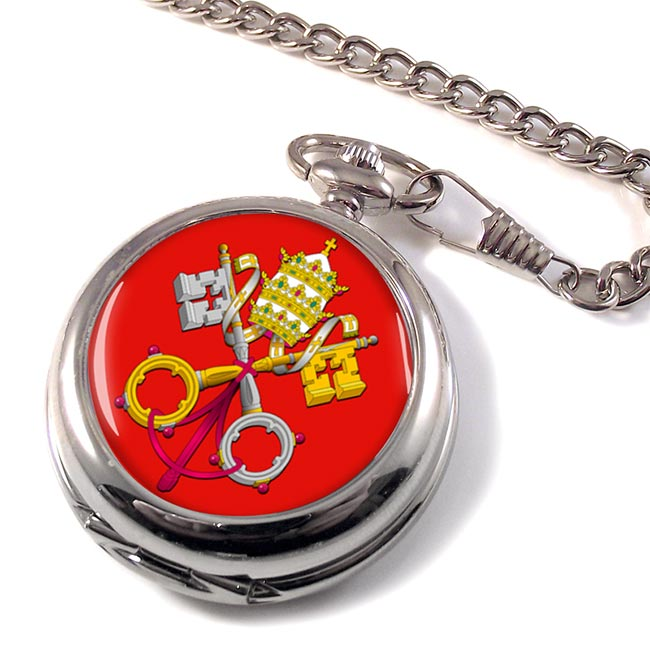 Holy See Coat of Arms Pocket Watch