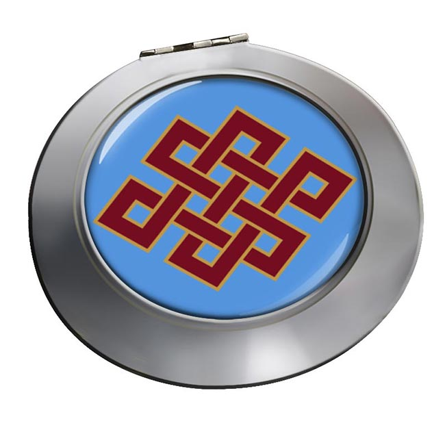 Endless Knot of Eternity Chrome Mirror