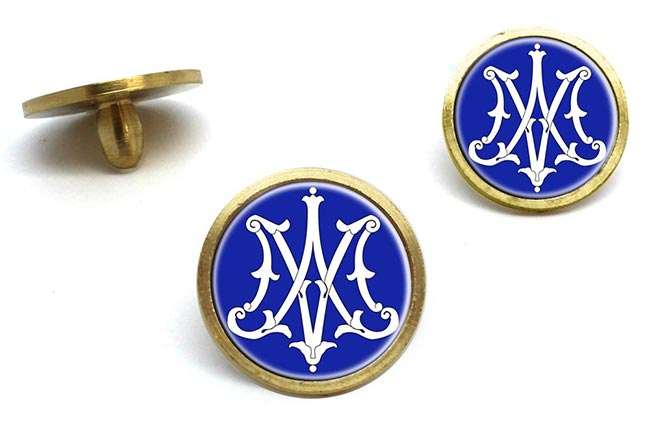Monogram of Mother Mary Golf Ball Markers