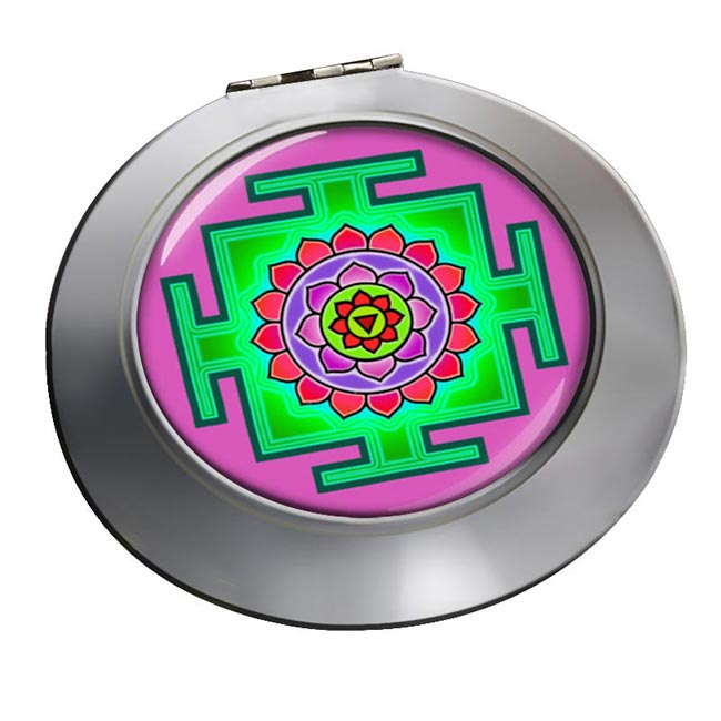 Matangi Yantra Chrome Mirror