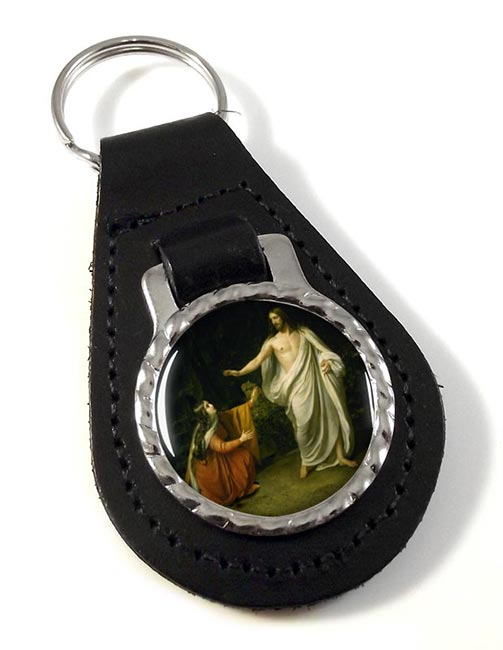 The Resurrection Leather Keyfob