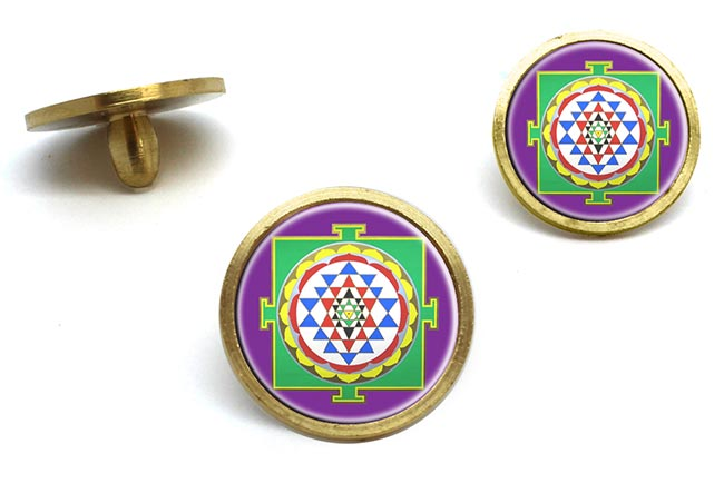 Sri Yantra Golf Ball Markers