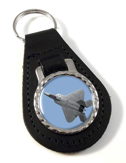 F18 Leather Keyfob