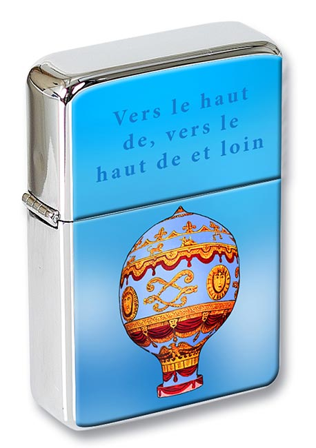 Montgolfier Hot Air Balloon Flip Top Lighter