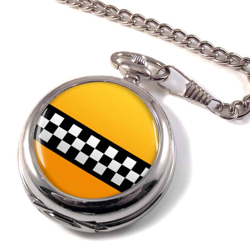 New York Taxi Pocket Watch