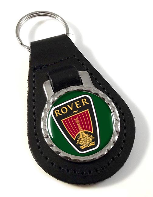 Rover Leather Keyfob