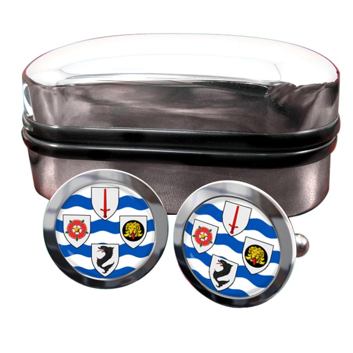 Southern Railways Round Cufflinks