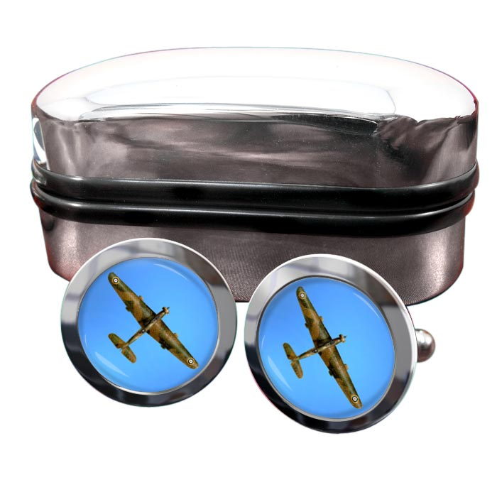 Vickers Wellesley Round Cufflinks
