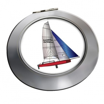 Laser Dinghy Chrome Mirror