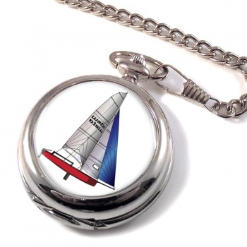 Laser Dinghy Pocket Watch