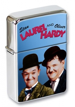 Laurel and Hardy Flip Top Lighter