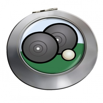 Lawn Bowls Chrome Mirror