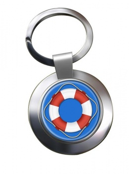 Lifebuoy Chrome Key Ring