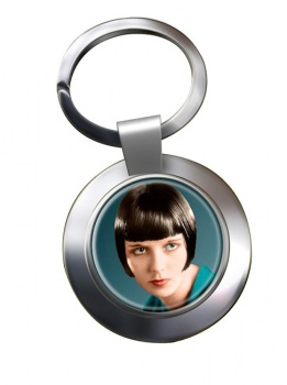 Louise Brooks Chrome Key Ring