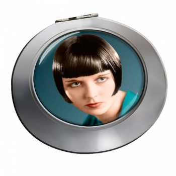 Louise Brooks Chrome Mirror