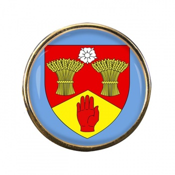 County Londonderry (UK) Round Pin Badge