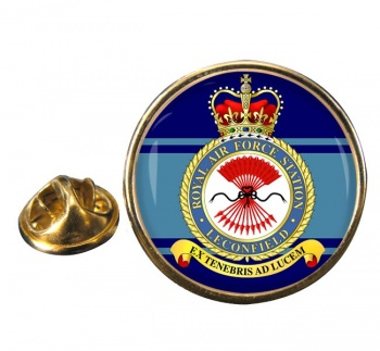 Leconfield Round Pin Badge