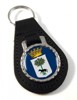 Lecce (Italy) Leather Key Fob