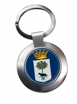 Lecce (Italy) Metal Key Ring