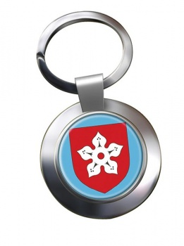 Leicester (England) Metal Key Ring