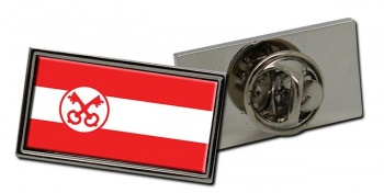 Leiden (Netherlands) Flag Pin Badge