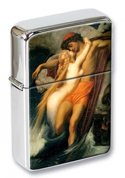 The Fisherman and the Syren by Leighton Flip Top Lighter