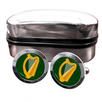 Leinster (Ireland) Crest Cufflinks