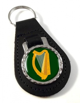 Leinster (Ireland) Leather Key Fob