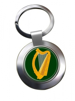 Leinster (Ireland) Metal Key Ring