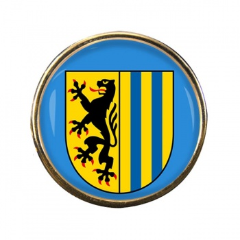 Leipzig (Germany) Round Pin Badge