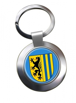 Leipzig (Germany) Metal Key Ring