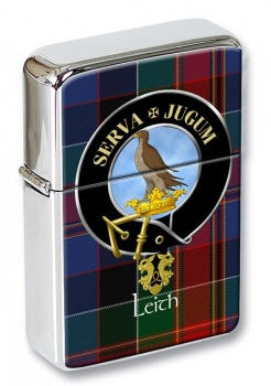 Leith Scottish Clan Flip Top Lighter