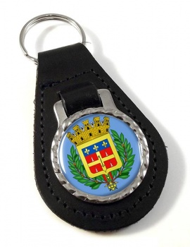 Le Mans (France) Leather Key Fob