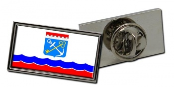 Leningrad Oblast Flag Pin Badge