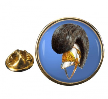 Life Guards Helmet 1815 Round Pin Badge