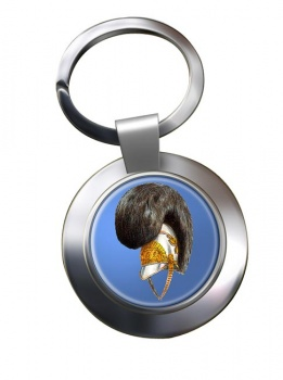 Life Guards Helmet 1815 Chrome Key Ring