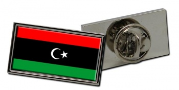 Libya Flag Pin Badge