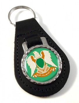 Libya 1977-2011 Leather Key Fob