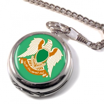 Libya 1977-2011 Pocket Watch