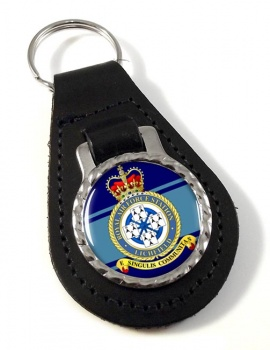 RAF Station Lichfield (alternative) Leather Key Fob