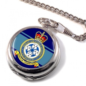 RAF Station Lichfield (alternative) Pocket Watch