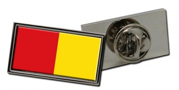 Liege-ville (Belgium) Flag Pin Badge