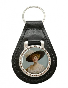 Lillian Russell Leather Key Fob