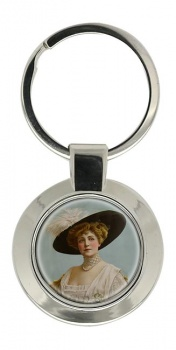Lillian Russell Key Ring