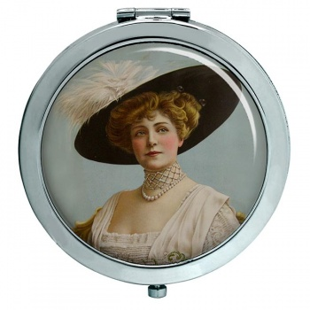 Lillian Russell Compact Mirror