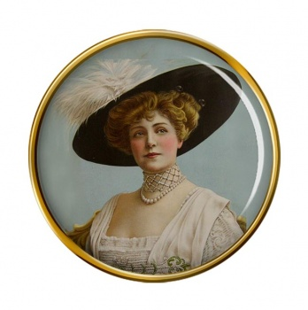 Lillian Russell Pin Badge